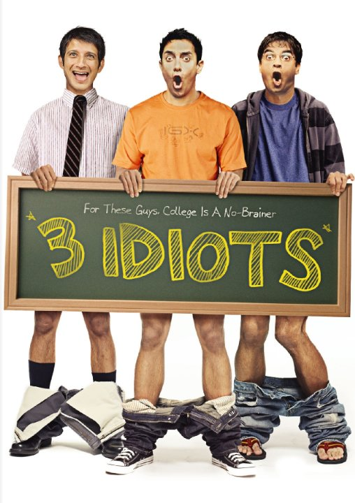 3 IDIOTS भारतीय विधार्थी के जीवन की सत्य कथा पर आधारित ! 2009 Indian coming-of-age comedy-drama film Absolute fun. Keeps you engaged till the end & departs with a wonderful message. With expected dream dances & songs on every random situation.