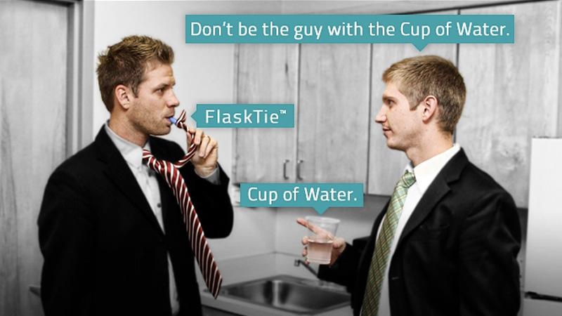 Flask Tie
