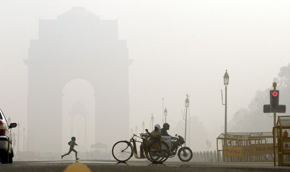 Delhi's Coldest Monday temperature in 5 years is 4.2 degrees