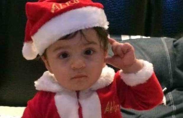 AbRam Shah Rukh Khan's Santa Pic Viral