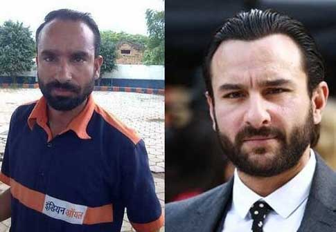 Saif Ali Khan and Indian Oil Attendant