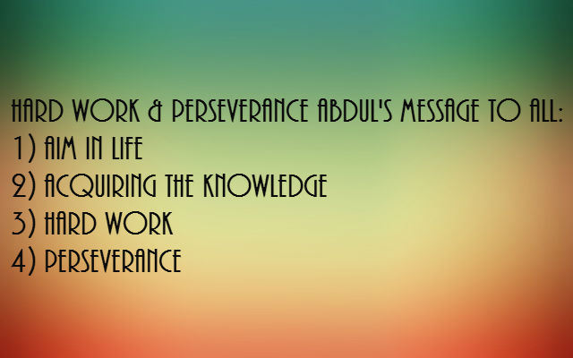 Hard Work And Perseverance Quotes: Top 15 Inspirational Quotes By Dr. APJ Abdul Kalam