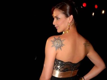 Esha-Deol-tattoo
