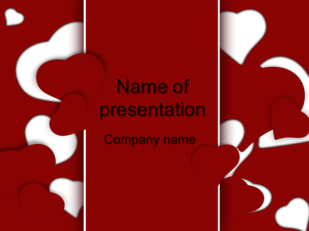 Free love powerpoint template presentation rvcj media free love powerpoint template presentation toneelgroepblik Choice Image