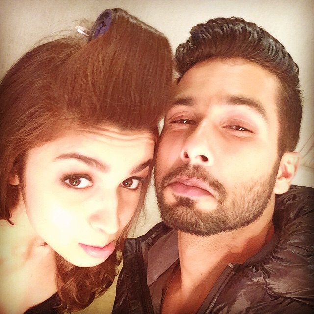 Grumpie selfie @shahidkapoor #lastday #SHAANDAAR #shootlife