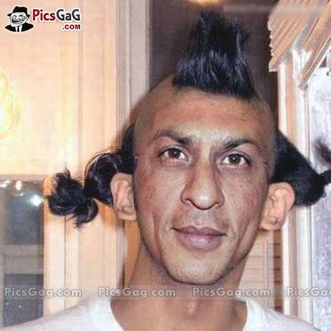 Shahrukh Khan New Hairstyle Rvcj Media