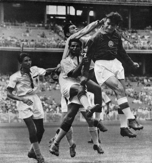 Indian Football Team At 1961 Asian Games Held In India