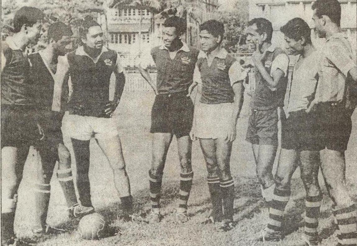 Members of the team that finished runner-up in 1964