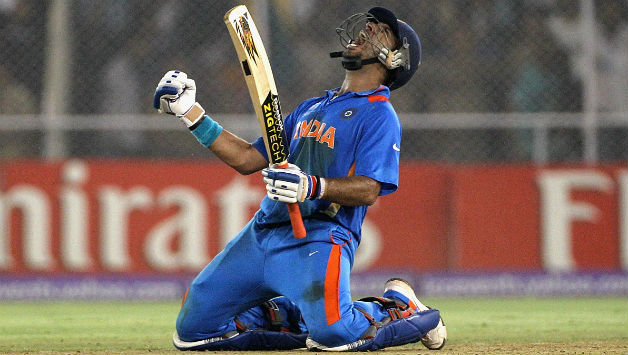 Yuvraj-Singh-of-India-celebrates-hitting-the-winning-runs-during-the-2011-ICC-World-Cup-Quarter-Final-match-between-Australia-and-India-628