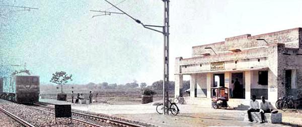 Begunkodor Train Station, India