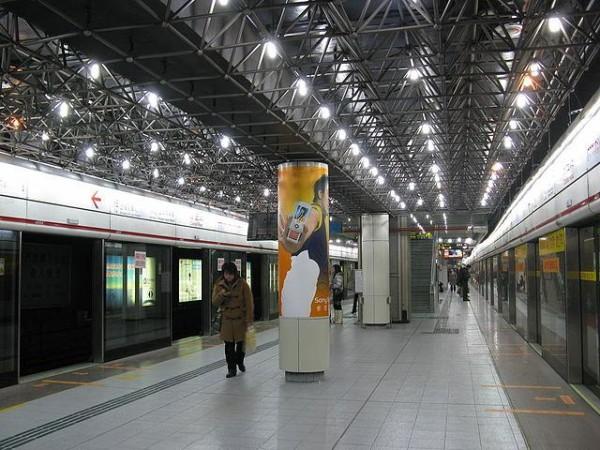 Caobao Road Subway Station, China