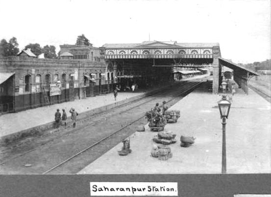 SaharanpurRlyStation_Damania_1907