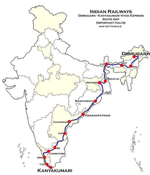 771px-Dibrugarh_-_Kanyakumari_Vivek_Express_Route_map