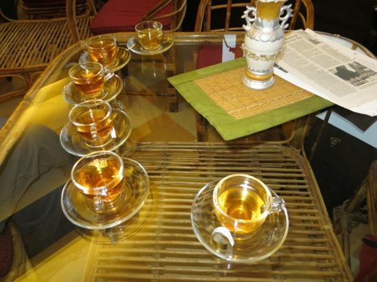 Go tea tasting at Darjeeling