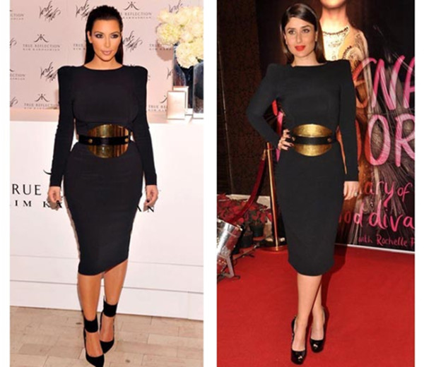 3-KAREENA KAPOOR AND KIM KARDASHIAN IN TOM FORD