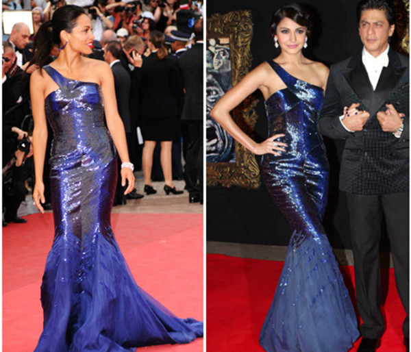 9-ANUSHKA SHARMA AND ROSARIO DAWSON IN ROBERTO CAVALLI