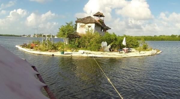 A Moveable Island