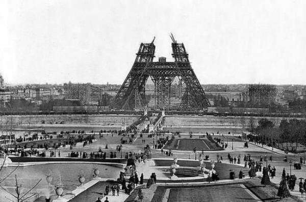 Eiffel Tower Construction (1888)