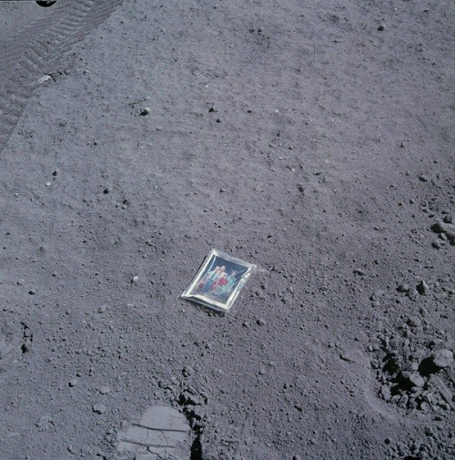 Family Photo Left On The Moon (1972)