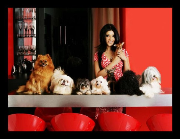 Koena Mitra at her house with her biggest fetish - her pets 5_0.preview