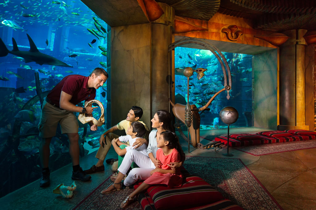 Underwater hotels that will crave you to visit there at for Dubai hotel name