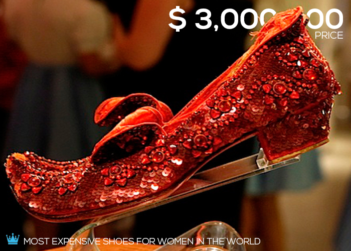 Awesome Most Expensive Shoes Brands In The World - High Heals