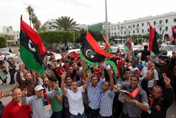 Libyans celebrate death of dictator