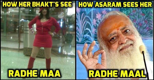 Asaram 12 songs by asaram, nirmal baba & more after seeing radhe maa's,Asaram Meme