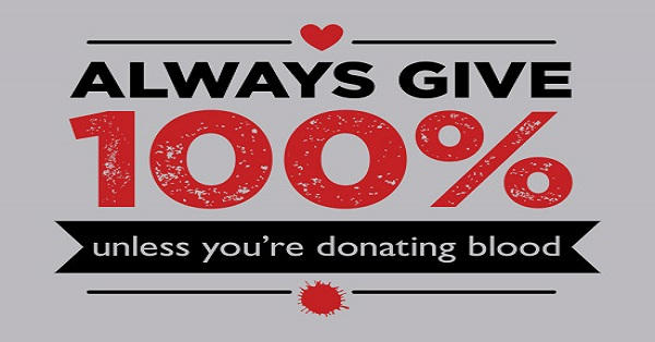 why should we donate blood It takes about an hour to make a whole blood donation — from the canadian blood services offers you when you donate, we test your blood to identify.