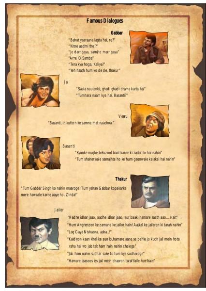 sholay-famous dialogues