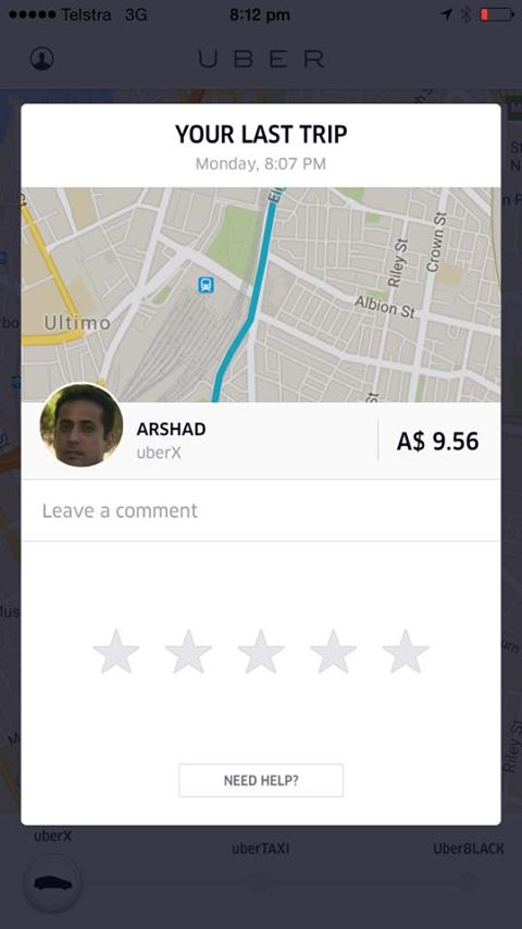 how to become an uber eats driver australia