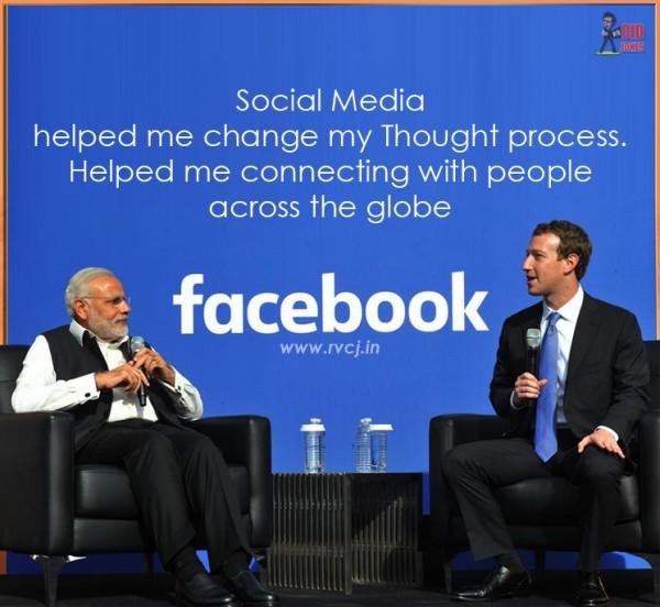 Modi In FAcebook