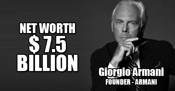 10 Richest Fashion Designers In The World Whose Earning Will Blow Your Mind