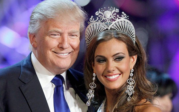 Donald Trump and Miss USA