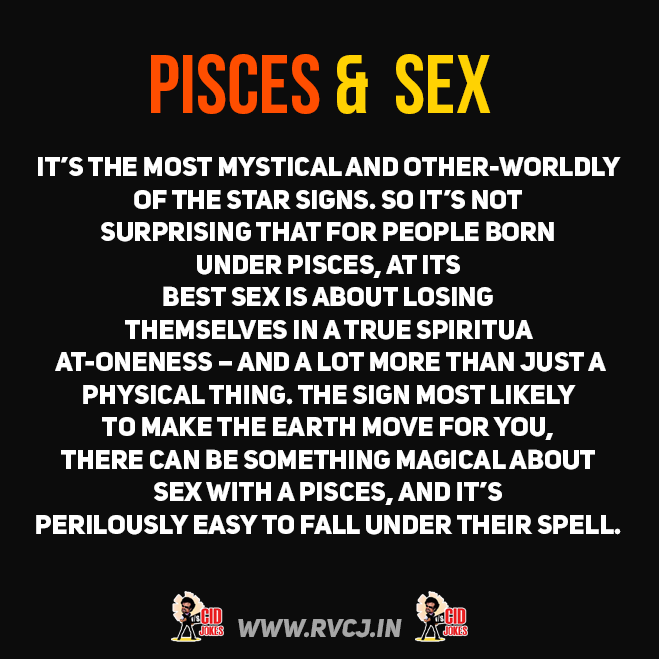 Sex with a pisces