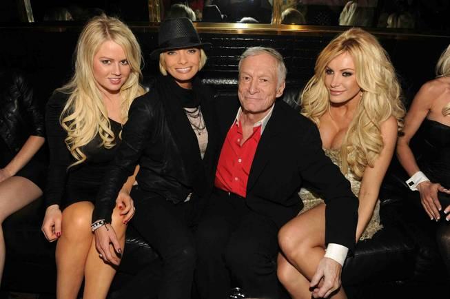 Le fondateur du magazine Playboy, Hugh Hefner, est