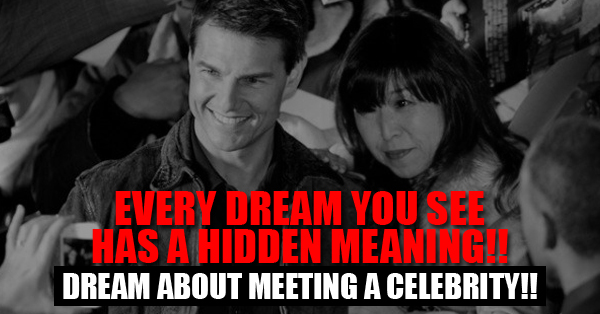 dreams about meeting a celebrity