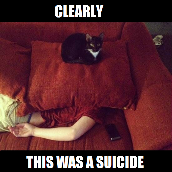 CLEARLY SUICIDE