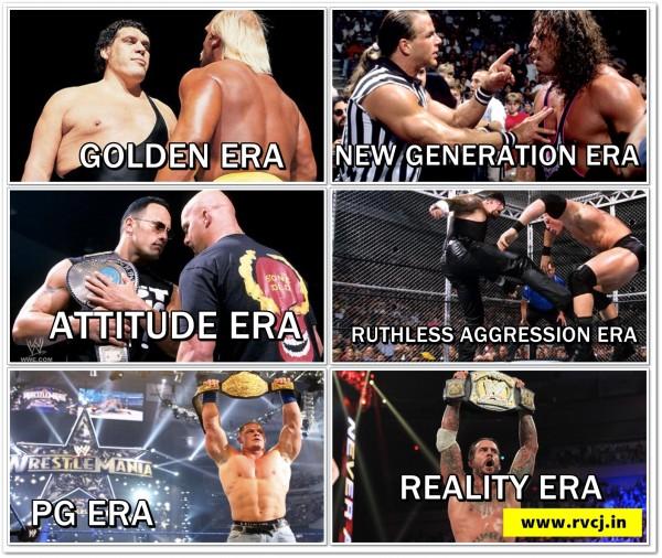 WWE Eras