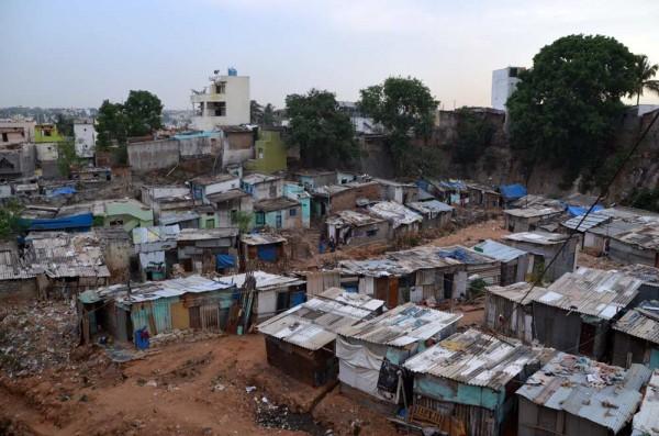 Rajendra Nagar Slum, Bangalore