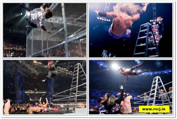 WWE High Flying Moments