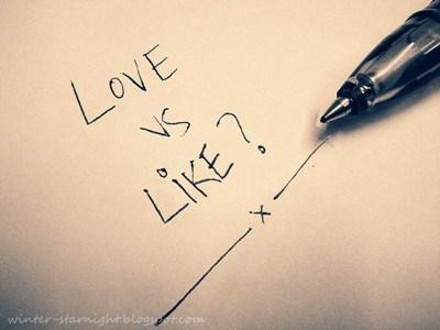 love-vs-like