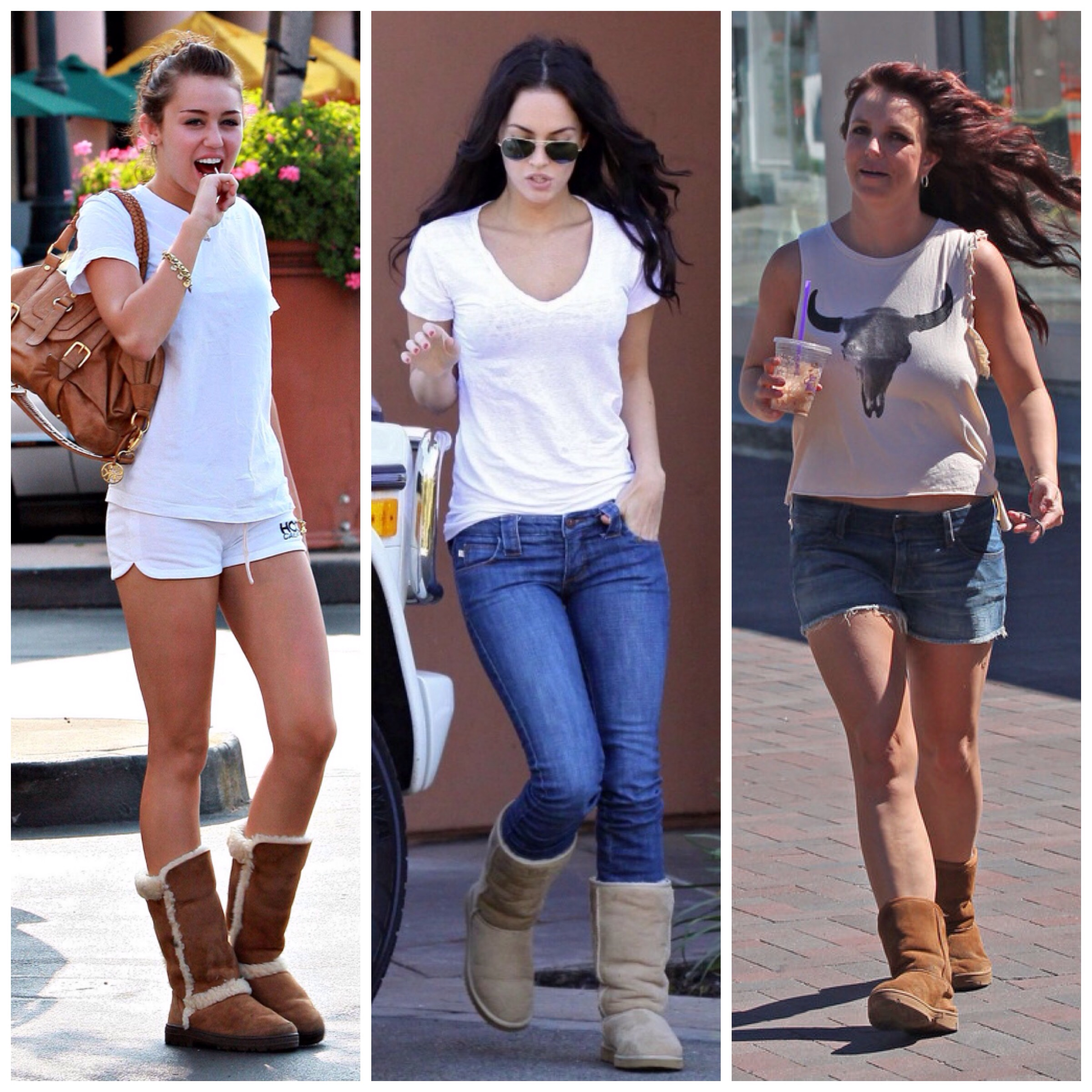 Celebrities in Sweat Pants. And Uggs. | Celebrity United