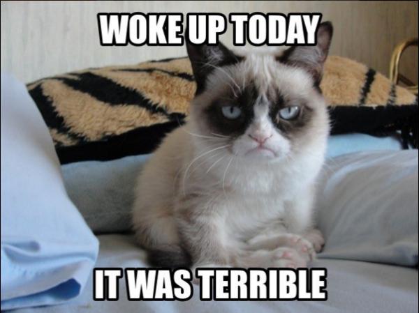 woke early