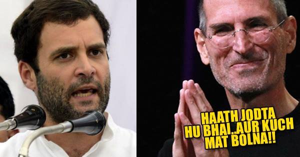 Rahul Gandhi Trolled On Twitter For Saying 'Steve Jobs Was