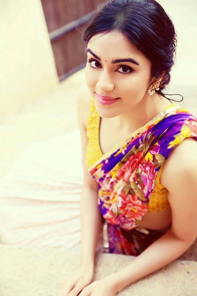 Adah Sharma Latest Hot Half Saree Photoshoot Hd Photos Stills Rvcj Media