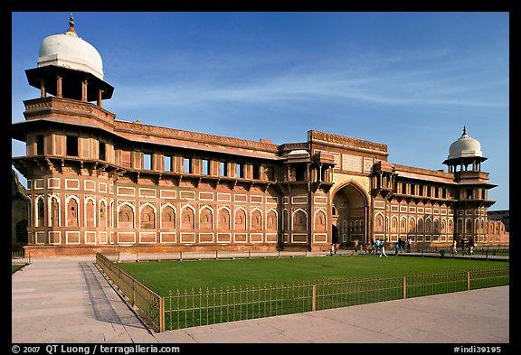 Jehangiri Palace, Agra Fort. Agra, Uttar Pradesh, India