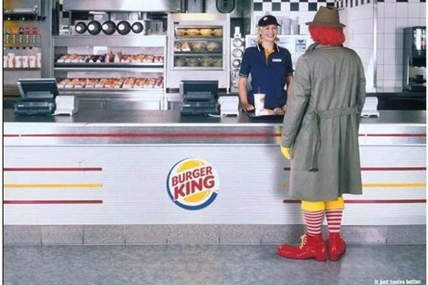 Brand War Burger King