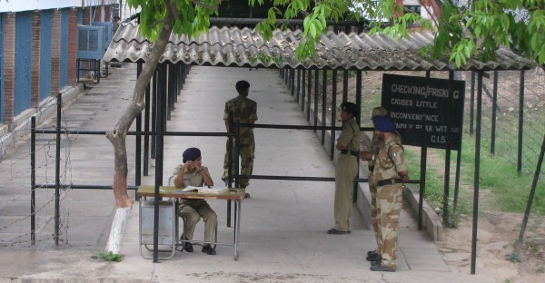 CISF_Security_Check_Point
