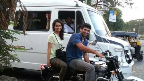 Shraddha With Actor Previios